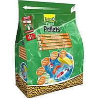 Tetra POND Pellets medium 4L/1,03kg - плавающие шарики для прудовых рыб