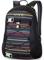 Симпатичный рюкзак в полоску для студентов, черный Dakine WOMENS WONDER 15L taos 610934861457