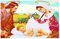 """Схема для частичной вышивки бисером на габардине - """"Младенец"""" (Код: Схема, А3, Габардин, Арт.ИЧ-16)"""