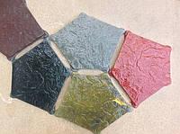 Формы для тротуарной плитки «Экомощение-Пентагон» глянцевые пластиковые АБС ABS, фото 1