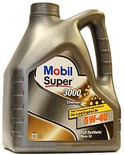 Масло моторное Mobil Super 3000 Diesel 5W-40 4L 22347