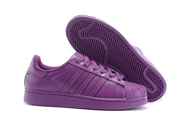 Кроссовки женские Adidas Superstar Supercolor / ADW-758