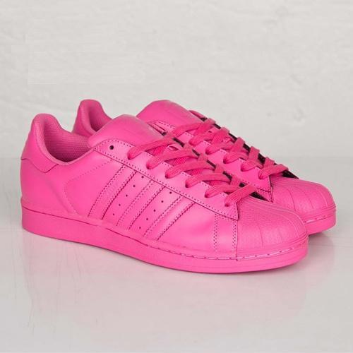Кроссовки женские Adidas Superstar Supercolor / ADW-759