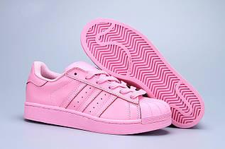 Кроссовки женские Adidas Superstar Supercolor / ADW-760 (Реплика)