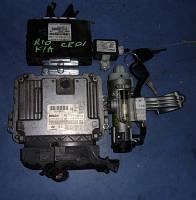 Блок управления двигателем комплект ( ЭБУ )KiaRio 1.5crdi2006-2011Bosch 0281012332, 39101-2a610, 391012a61
