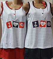 Оптом пижама-шорты Fawn морячка