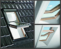 Окно Roto R45 6/14 (из дерева)