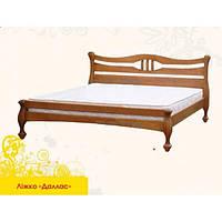 Ліжко дерев'яне Далас МебіГранд / Кровать деревянная Даллас MebiGrand