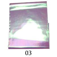 """Фольга """"Битое стекло"""" для дизайна ногтей Adore BS-03"""