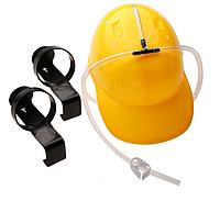 Шлем для пива желтого цвета