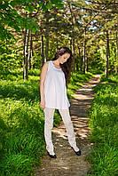 Блуза классическая без рукавов, фото 1