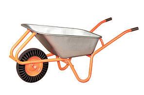 Тачка cадово-строительная Vitals 100/180 (каучуковое колесо)