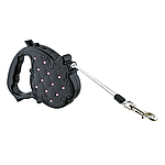 Поводки-рулетки – незаменимый атрибут для прогулок с собакой.
