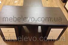 Гербор Капри стол письменный 160  780х700х1600мм венге магия, фото 2