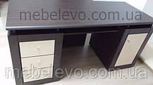 Гербор Капри стол письменный 160  780х700х1600мм венге магия, фото 3