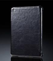 Чехол-книжка для iPad 3 Miracase Veins I case, black