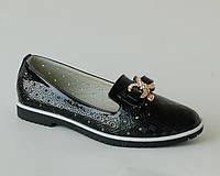 Туфли для девочек W.Niko арт.C7-7 черн (Размеры:31-37)
