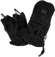 Флисовые перчатки-варежки, с петлями, MFH 15311A