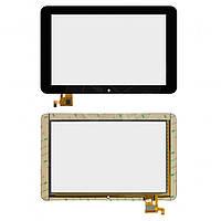 Сенсорный экран (touchscreen) для Ritmix RMD-1027, 12 pin, черный, оригинал