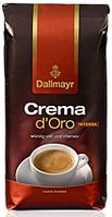 Кава в зернах Dallmayr Crema D'oro Intenso 1 кг 100% арабіка