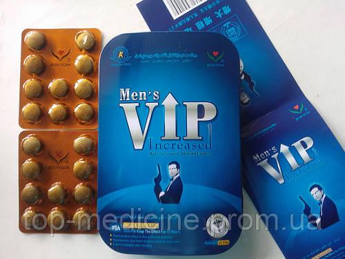 Vip Mens - препарат для потенции. 20 табл. в уп.