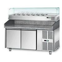 Стол холодильный для пиццы GGM POS158#AGS153