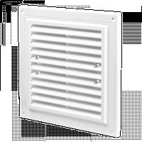 Решетка вентиляционная  Домовент ДВ 205 х 205