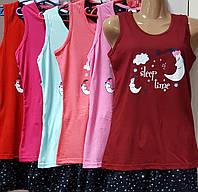 Оптом пижама -шорты женская, луна
