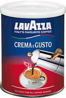 Lavazza Crema e Gusto (ж/б) 250г кофе молотый