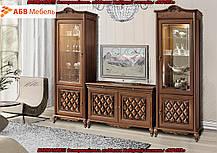 Витрина 1-но дверная Новита/Novita орех Караваджо (Скай ТМ), фото 3
