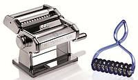 Тестораскаточная машинка Marcato Atlas 150 Pastabike для приготовления лапши (лапшерезка) Италия