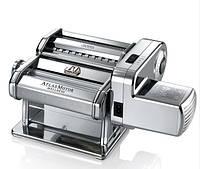 Тестораскатка-лапшерезка электрическая машина для раскатки теста Marcato Atlas Motor 180 mm Италия