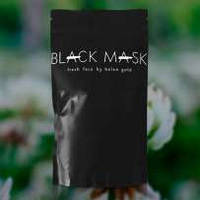 Маска на основе угля бамбука  Black Mask. От черных точек