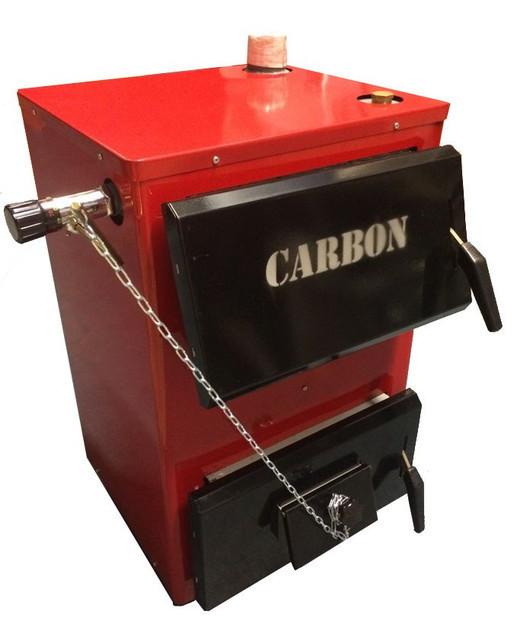 Отопительный твердотопливный котел для дома Carbon КСТО 10 (Карбон)