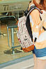 Городской рюкзак с газетным принтом, фото 6