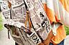 Городской рюкзак с газетным принтом, фото 9