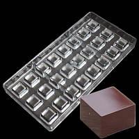 """Форма для конфет поликарбонат""""квадрат"""" (код 04987)"""
