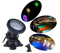 Подводный RGB прожектор  36 LED, фото 1