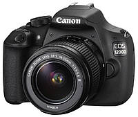 CANON EOS 1200D+18-55DCIII +  EF 75-300MM F4-5,6 III + BAG + TOSCHIBA WIFI CARD 8GB W03