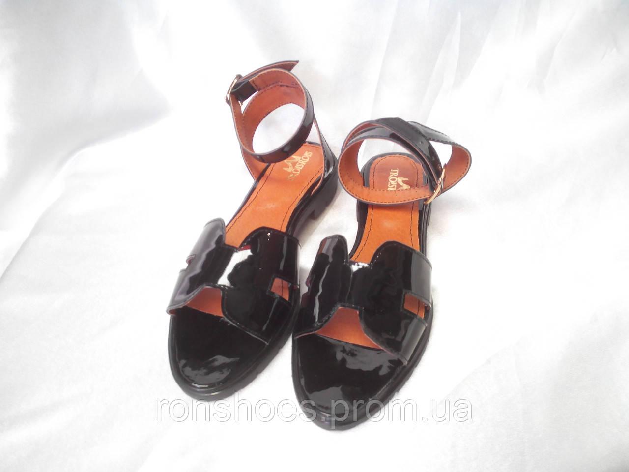 """Стильные летние комфортные Troisrois босоножки из натуральной турецкой кожи - """"RonShoes""""- интернет-магазин кожаной и комфортной обуви.  в Хмельницком"""