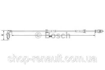 Датчик абс, задний левый Bosch (0 265 007 583) 6040004542
