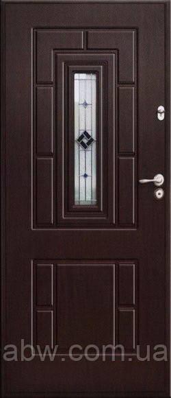 """Двері з МДФ """"АРМЕКС"""" - модель 36 Вітраж"""
