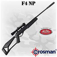 Crosman F4 NP (RM) пневматическая винтовка с газовой пружиной и оптикой 4х32