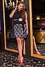 Платье женские с баской, батал, фото 3