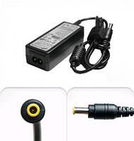 Зарядка для ноутбука Samsung mini 19V 2,1A 40W, B-класс, прямой штекер под разъём 3*1 мм