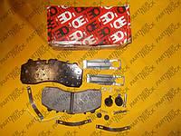 Колодки тормозные для Mercedes-Benz Actros, Daf xf, Scania 4
