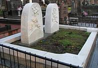 Памятник из мрамора № 117