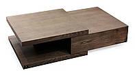 Стол журнальный из массива дерева 056