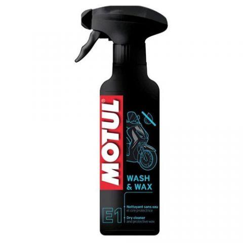 Чистящее средство Motul E1 Wash & Wax 400мл
