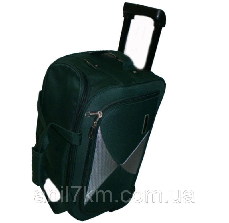 Большая дорожная сумка(58см.)на силиконовых колёсах фирмы MERCURY
